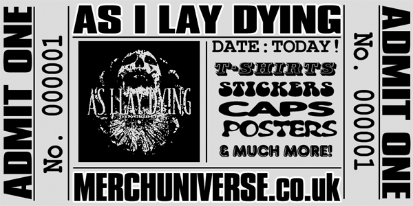 As I Lay Dying T-shirts and Merchandise