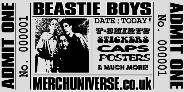 Beastie Boys t-shirts, Beastie Boys Merchandise, tees, tee shirts ...
