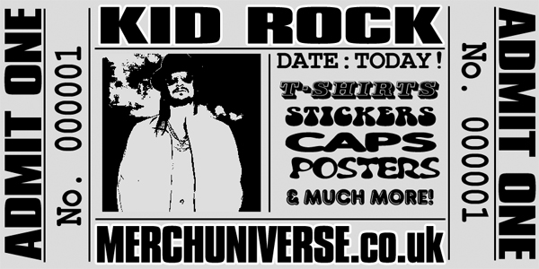 Kid Rock T-shirts and Merchandise