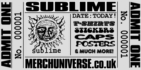 Sublime T-shirts and Merchandise